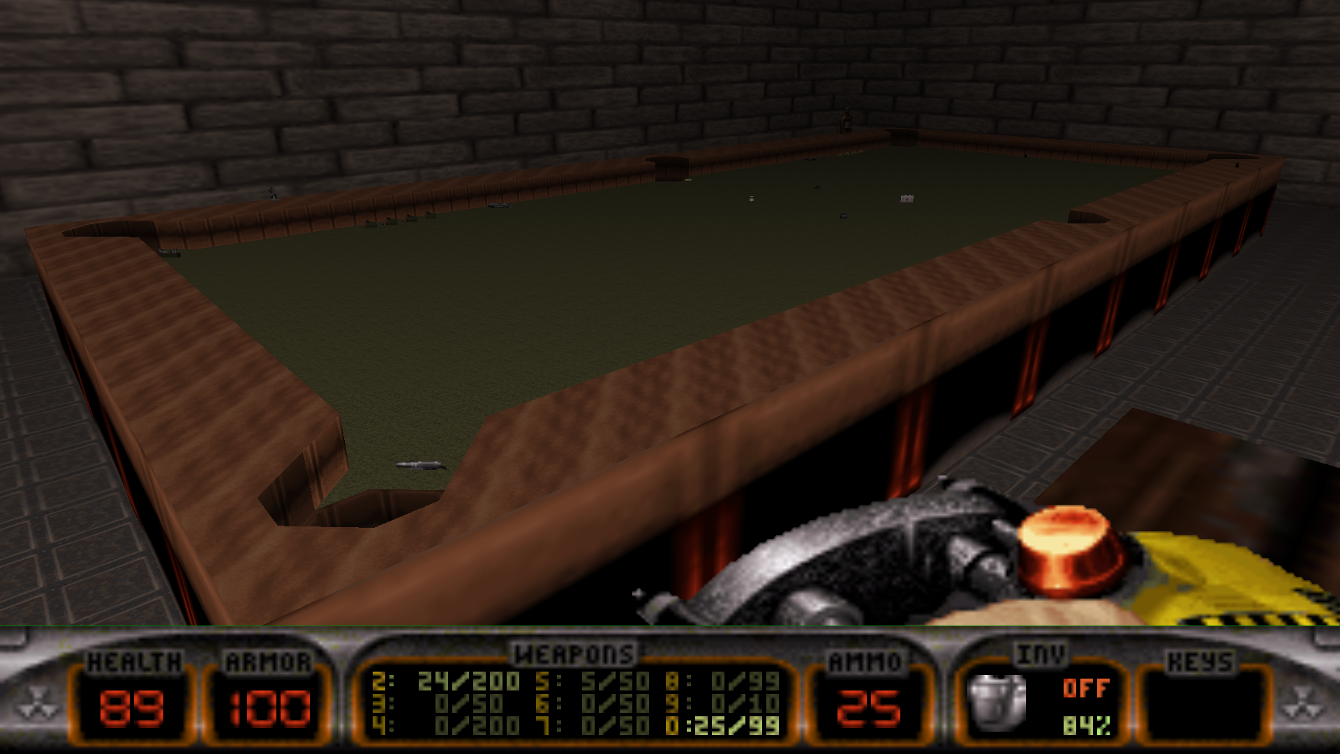 8-ball Duke Nukem 3D Map