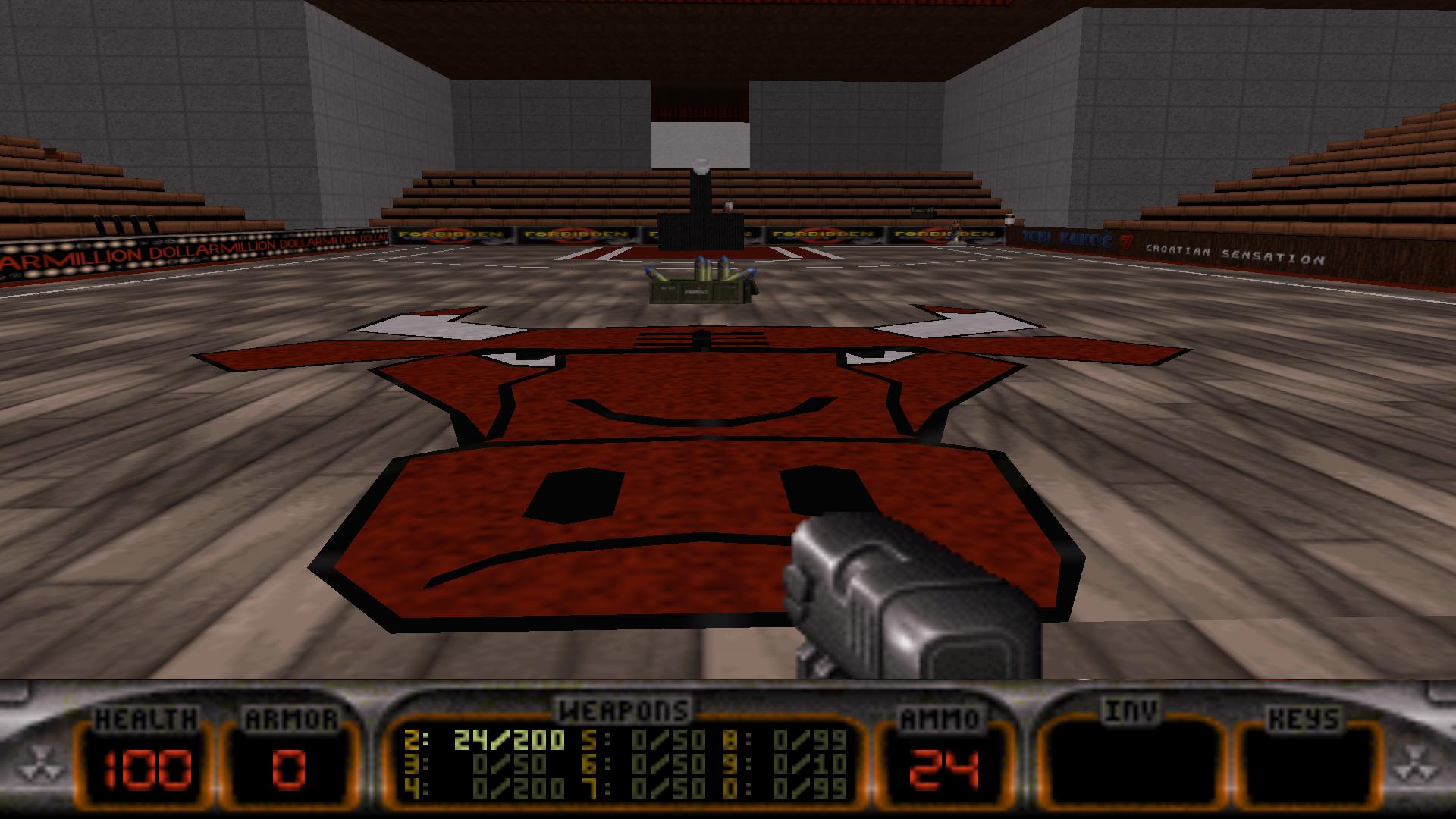 BULLS Duke Nukem 3D Map