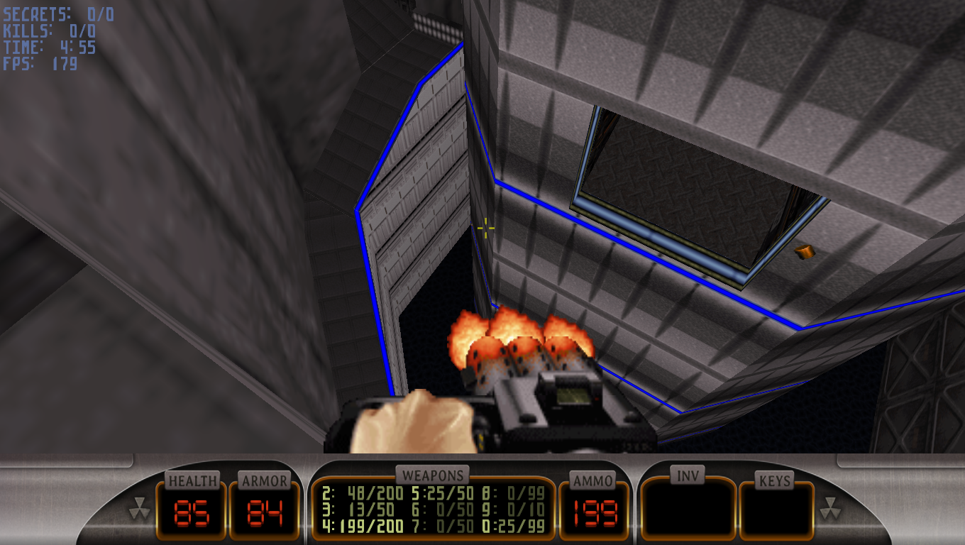 Duke Nukem 3D DN64 Shaft