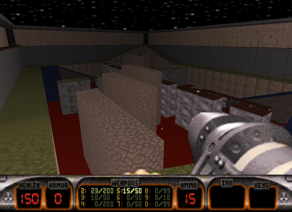 RPGreedy Duke Nukem 3D Map