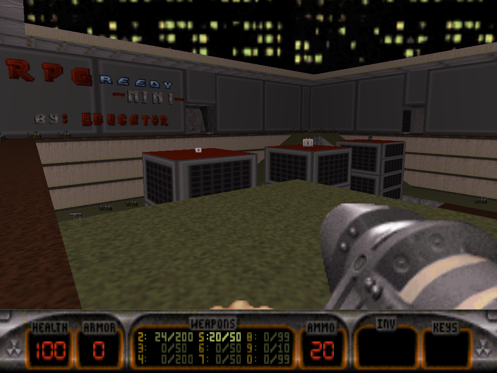 RPGreedyMini Duke Nukem 3D map