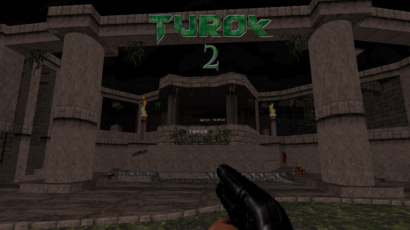 Turok2 Duke Nukem 3D map